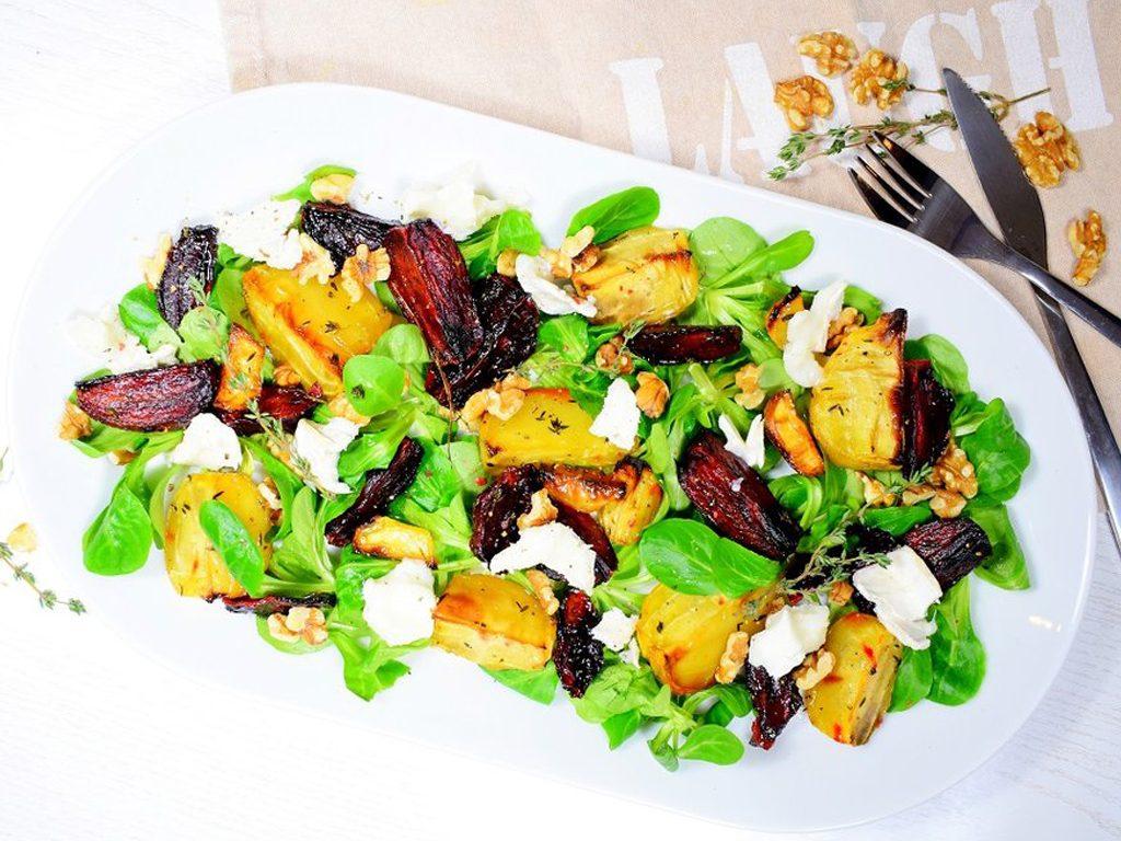 Bieten salade met geitenkaas   Salade recept   Healthy Wanderlust