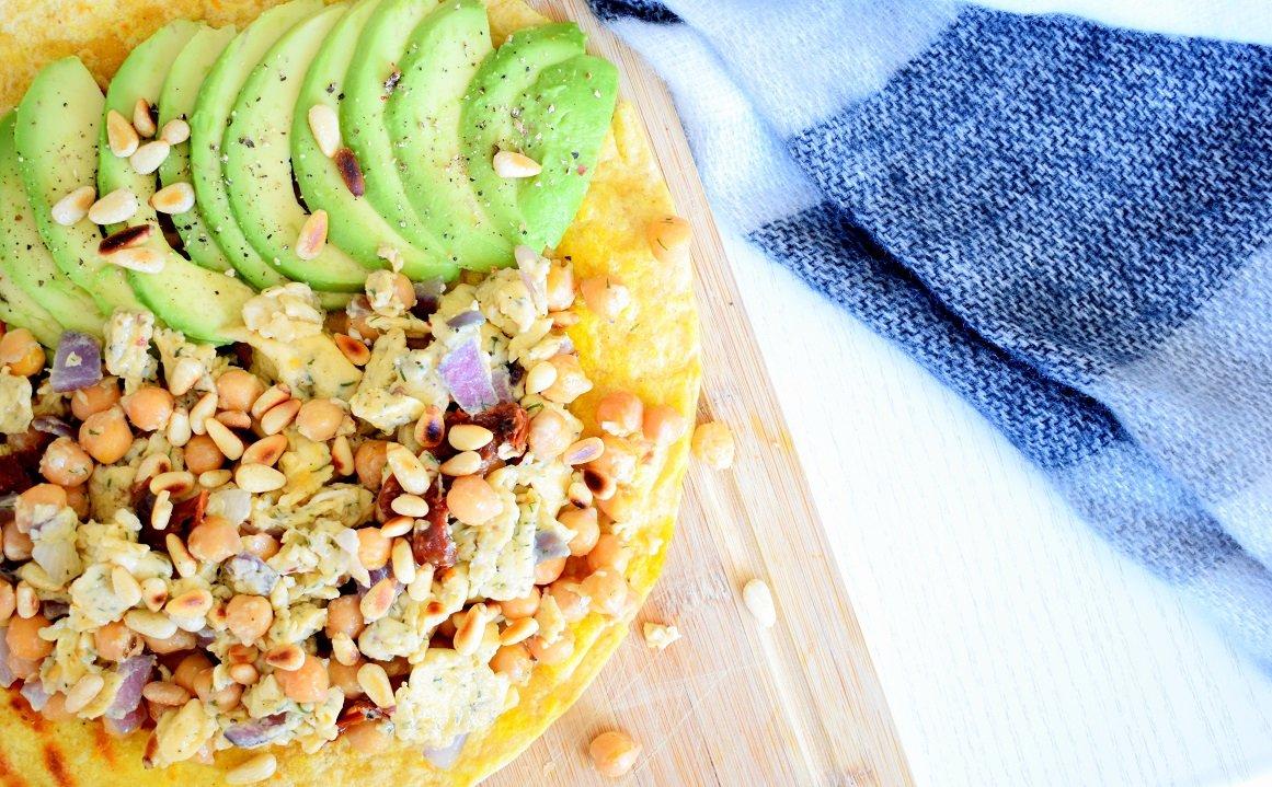 Makkelijke tonijn wraps | Lunch recept | Healthy Wanderlust