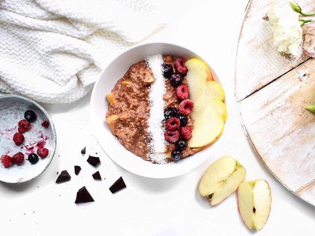Havermout met bosvruchten | Ontbijt recept | Healthy Wanderlust