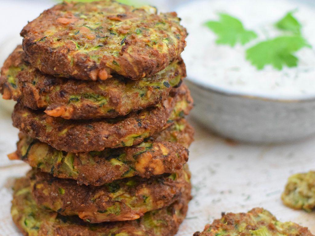 Courgette koekjes recept | Healthy Wanderlust