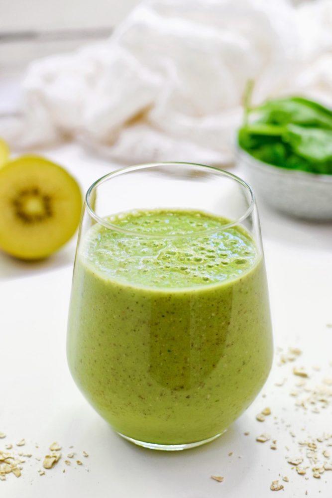 Kiwi smoothie | Makkelijk recept | Healthy Wanderlust
