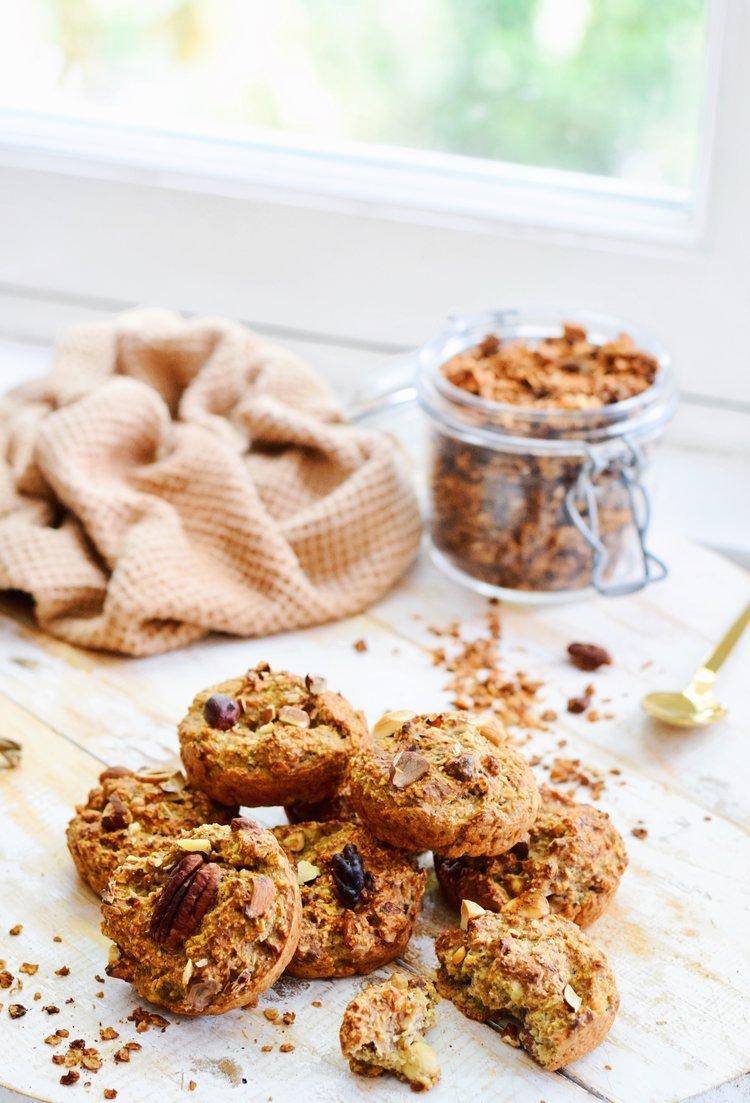 Ontbijt muffins met cappuccino smaak | Healthy Wanderlust