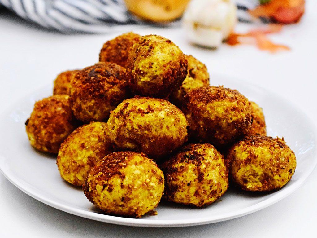 Vegetarische gehaktballen | Vegetarisch recept | Healthy Wanderlust