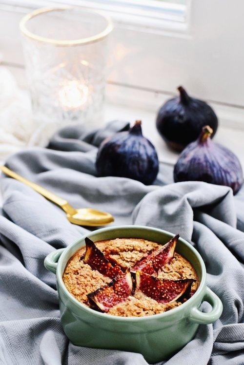 Lekker ontbijt | Vijgen havermout taartje | Healthy Wanderlust
