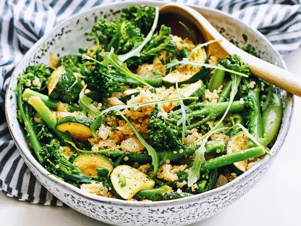 Quinoa salade | Super gezond en makkelijk recept | Healthy Wanderlust