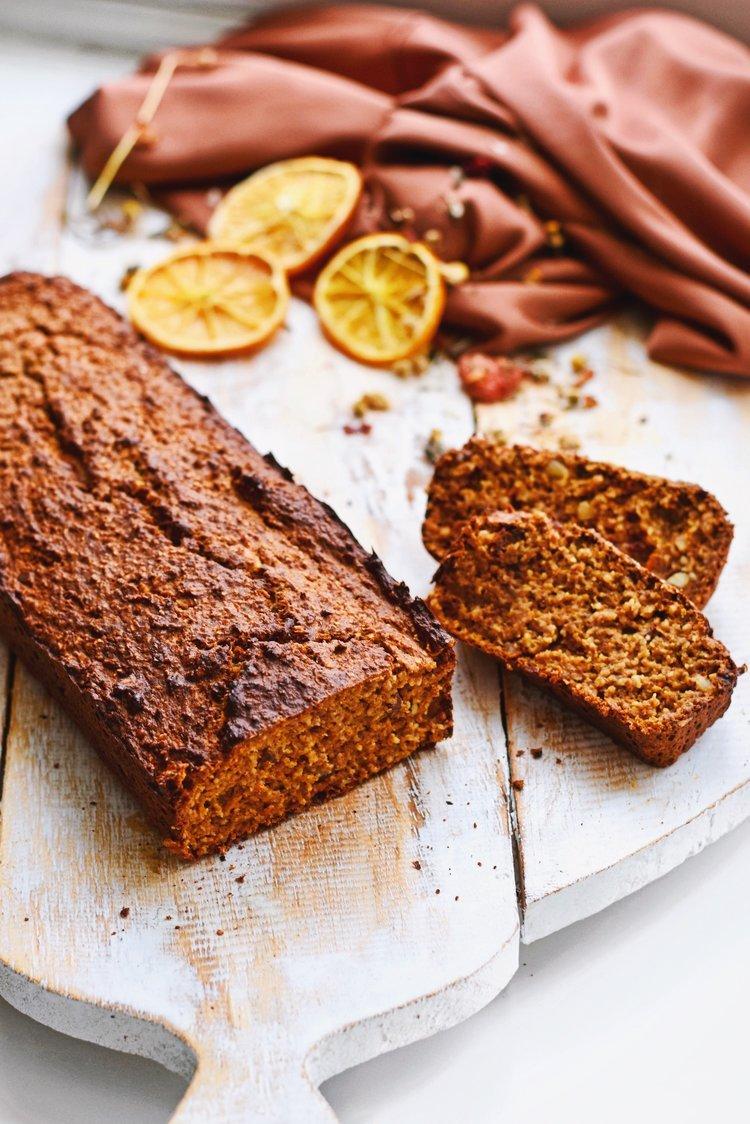 Bananenbrood met wortel | Gezonde snack | Healthy Wanderlust