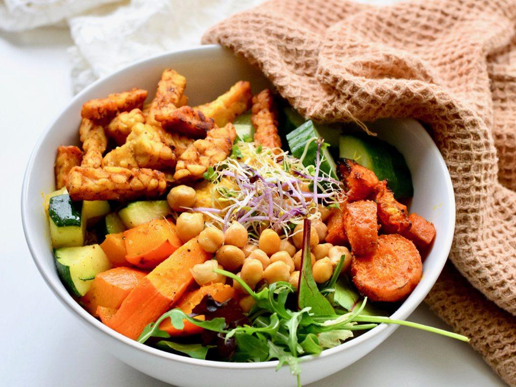 Vegetarische buddha bowl   Gezond recept   Healthy Wanderlust