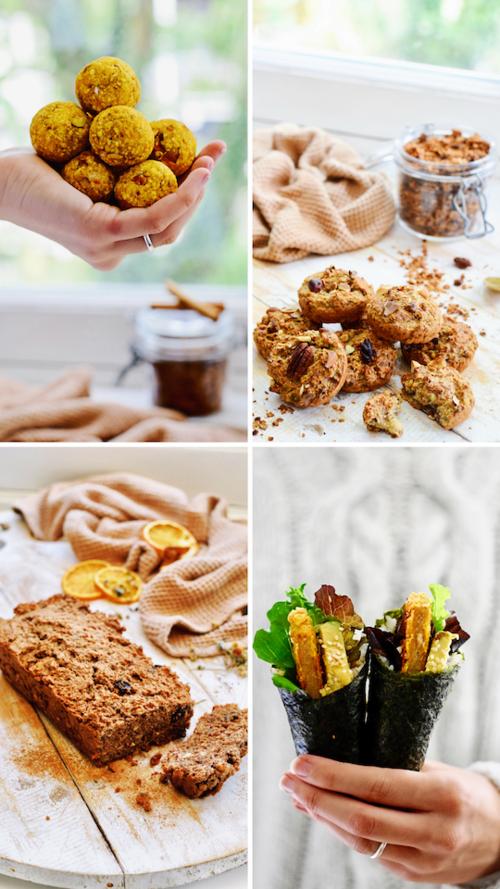 5 x gezonde hapjes | gezonde snacks | Healthy Wanderlust