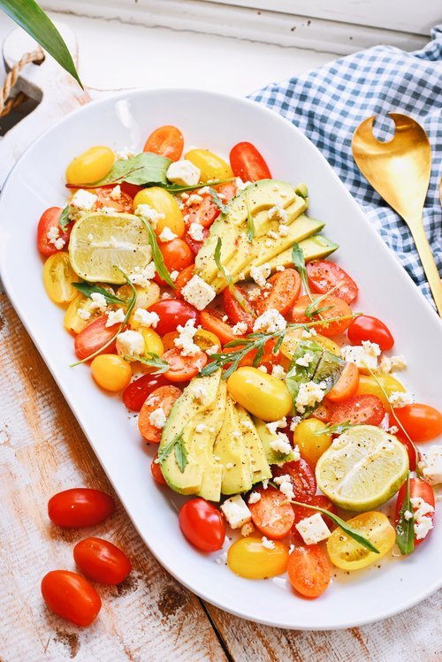 Lekkere tomaten salade | Makkelijk recept