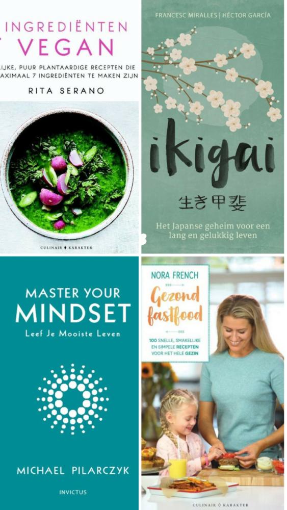 5 x gezonde kookboeken en mindset boeken