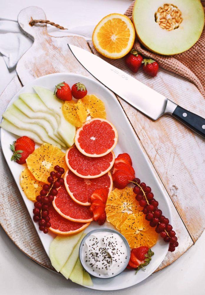 Fruitcarpaccio recept | Nagerecht recept | Healthy Wanderlust