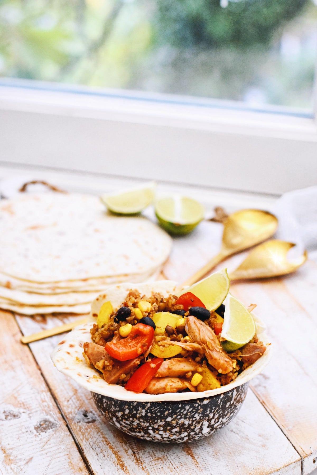 Jackfruit recept | Gezonde burrito bowl | Healthy Wanderlust